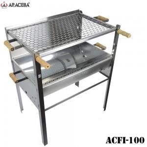 CHURRASQUEIRA ARACEBA EM AÇO INOX ACFI-100