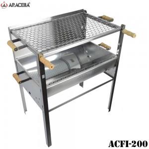 CHURRASQUEIRA ARACEBA EM AÇO INOX ACFI-200